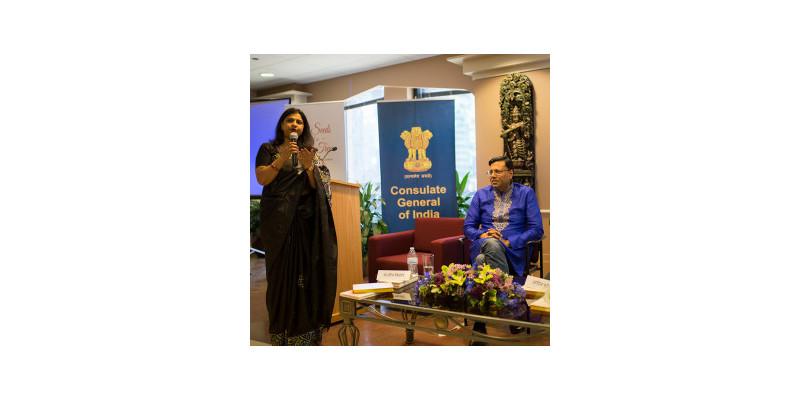 Consul General Neeta Bhushan and Sandeep Kishore